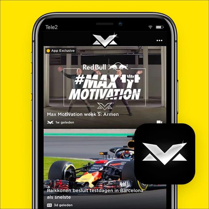 f1 app max verstappen
