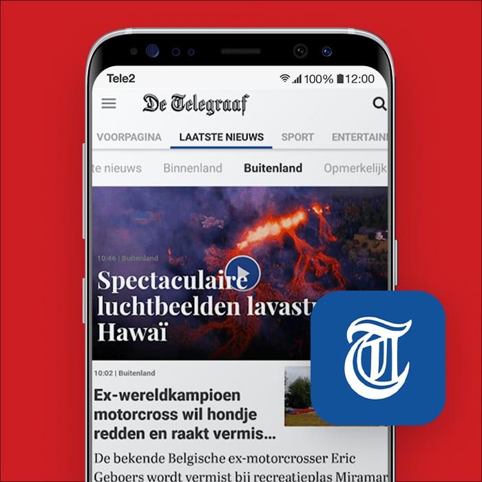 De-Telegraaf-nederlandse-kranten-app-Tele2Blog