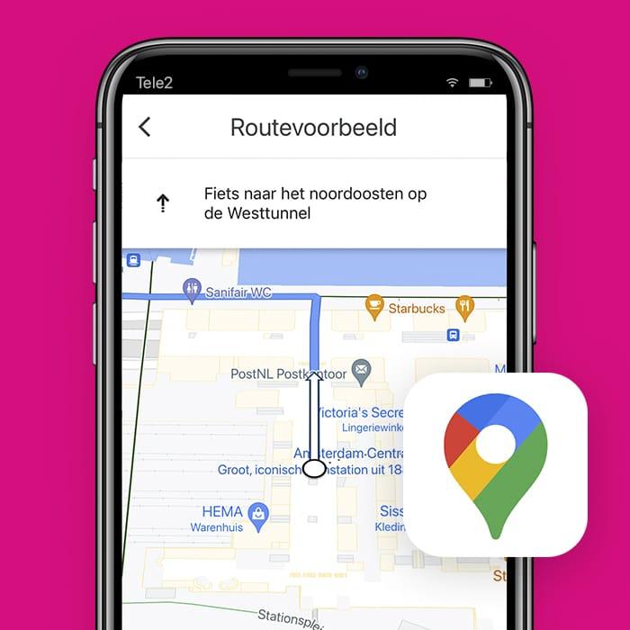 app-zelf-fietsroute-maken-Google-Maps-Tele2Blog