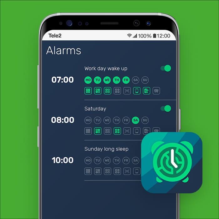 alarm app I Can't Wake up