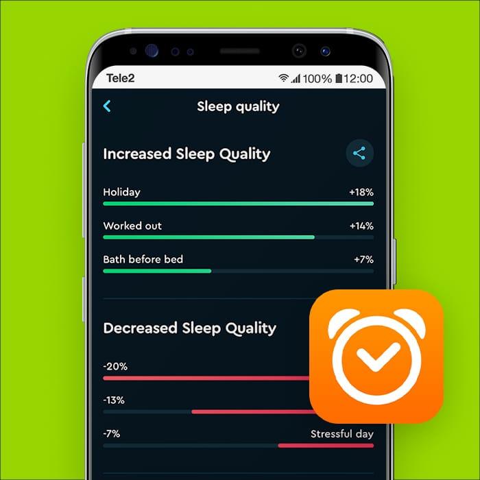alarm app Sleep Cycle