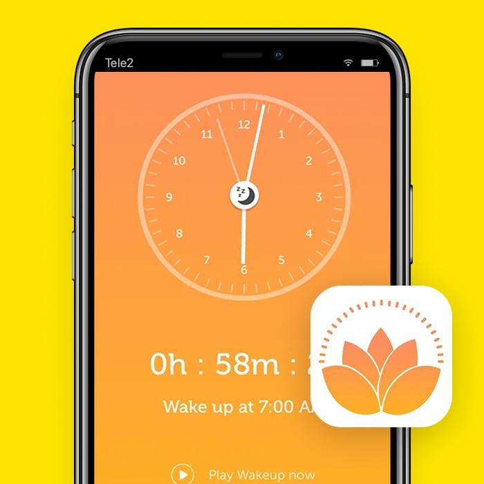alarm app Yoga Wake Up